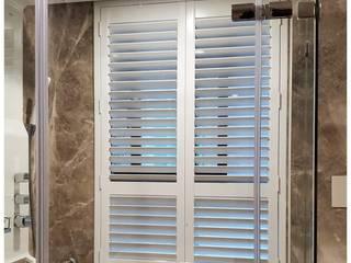 【品茉設計推薦: 百葉窗,浴室最好的窗簾】 根據 品茉空間設計(夏川設計) 簡約風