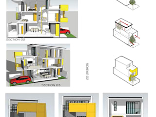YELLOW BOX by NOVOS DESIGN LAB Minimalist