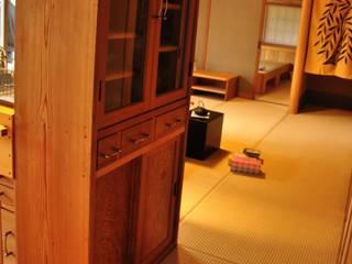2009年10月竣工 牛久離れ15坪の家 樹・中村昌平建築事務所 キッチン収納