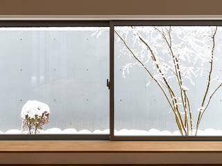 対庭の家 北欧風 庭 の あかがわ建築設計室 北欧