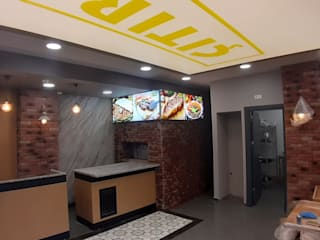 Industrial style walls & floors by FORMS MİMARLIK Industrial