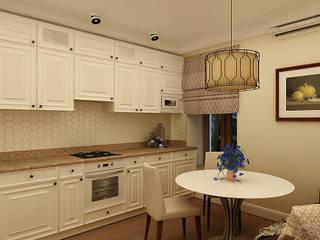 Квартира на Большой Подьяческой Кухня в классическом стиле от Астахова Елена Классический