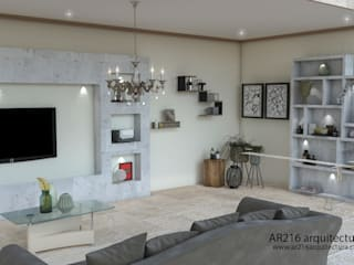 Classic style media rooms by AR216 Classic