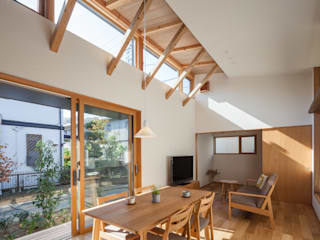 HAN環境・建築設計事務所 Modern living room White