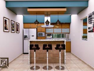 Cocinas modernas de Arquitectos LF Moderno