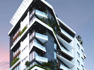 THE TOWER: modern  by MÉTRICO arquitectos, Modern