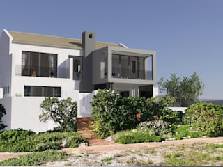 Residential Alterations in Blaawberg, Cape Town by Red Square Architectural Studio Modern