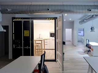 Industrial style study/office by Rafael Hernáez Loza AITEC Proyectos Industrial