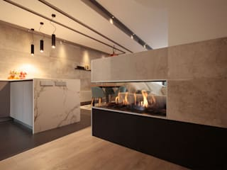 Comedores de estilo moderno de Rafael Hernáez Loza AITEC Proyectos Moderno