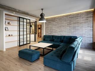 Livings de estilo industrial de Rafael Hernáez Loza AITEC Proyectos Industrial
