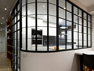 Pasillos, vestíbulos y escaleras industriales de Rafael Hernáez Loza AITEC Proyectos Industrial