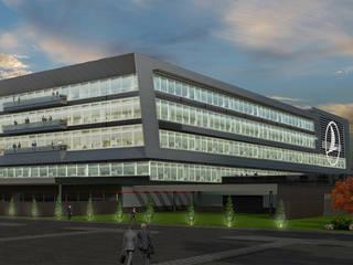 モダンな空港 の 4Faz Tasarım Mühendislik Mimarlık Danışmanlık Ltd. Şti. モダン