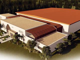 4Faz Tasarım Mühendislik Mimarlık Danışmanlık Ltd. Şti. Escuelas Madera Acabado en madera