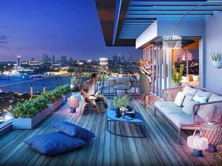 Modern hotels by 4Faz Tasarım Mühendislik Mimarlık Danışmanlık Ltd. Şti. Modern