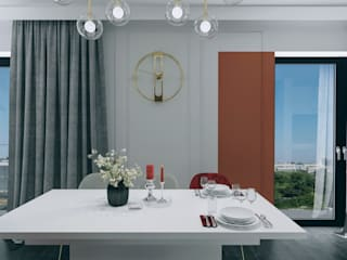 Modern Dining Room by Biuro projektowe Patio Modern