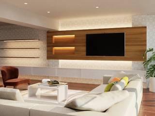 Salas Salas modernas de Ideas3dperu Moderno