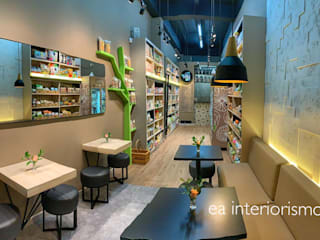 Industrial style gastronomy by ea interiorismo Industrial