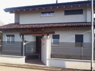 BCL Bergamasca Costruzioni Legno Rumah kayu Kayu White