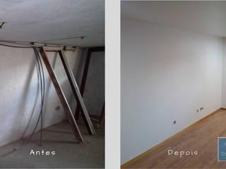Obr&Lar - Remodelação de Interiores Garasi Modern