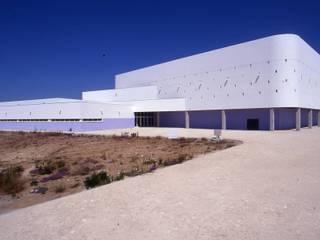 Pavilhão Gimnodesportivo de Cuba Ginásios ecléticos por Jorge Cruz Pinto + Cristina Mantas, Arquitectos Eclético