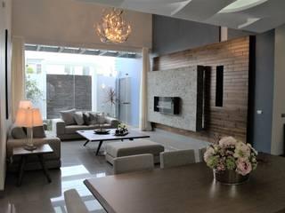 Modern living room by arketipo-taller de arquitectura Modern