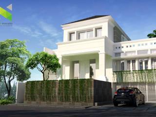 Rumah Tinggal di Jakarta Oleh nonno+associates Kolonial