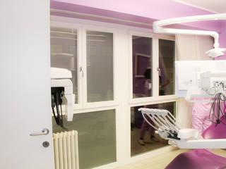Diesse Serramenti: upgrade infissi e serramenti FINSTRAL presso Studio Dentistico di Ferrara Diesse Srl Serramenti Cliniche moderne