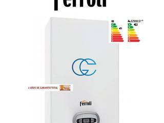Caldera de gas Ferroli BlueHelix Tech RRT 24 C de tuandco Moderno