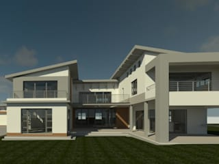 House Van Wyk by The Drawing Room Modern