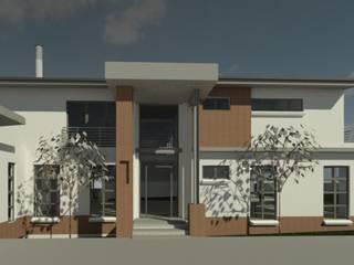 House Van Wyk Modern houses by The Drawing Room Modern