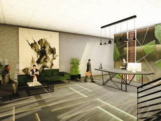 Gaziantep Çikolata Fabrikası Yücesan Grup Mimarlık Ofis Alanları Beton Bej