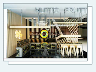 Nutto Frutto Stand Tasarımı Kut İç Mimarlık Endüstriyel