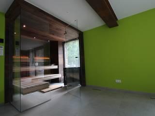 Wellness & More GmbH Sauna Brown