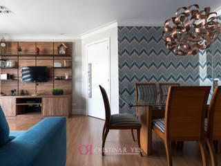 Apartamento de solteiro II por Cristina Reyes Design de Interiores Moderno