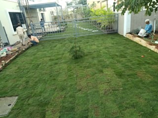 Lawn integration with gardening by Setgreen