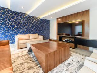 Salas de estar modernas por ESTUDIO TANGUMA Moderno
