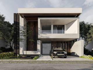 Vivir es un regalo, vive en una casa única y moderna. Casas modernas de Rebora Arquitectos Moderno