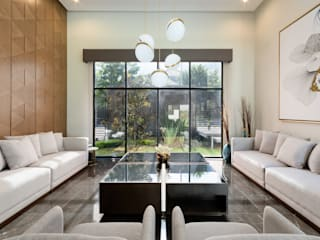 Ruang Keluarga Modern Oleh ESTUDIO TANGUMA Modern