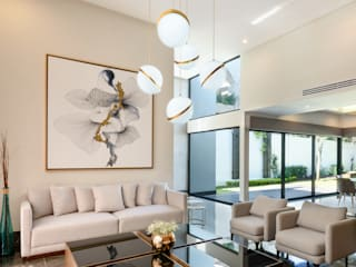 Modern living room by ESTUDIO TANGUMA Modern