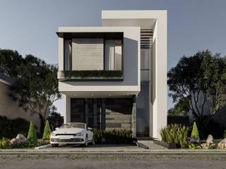 En Rebora creamos casas de diseño único con materiales de máxima calidad. Casas modernas de Rebora Arquitectos Moderno