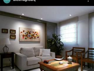 Tranquilidade e Natureza Salas de estar modernas por Alexandre Magno Arquiteto Moderno