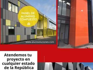 ALUCO SOLUCIONES Modern office buildings Aluminium/Zinc