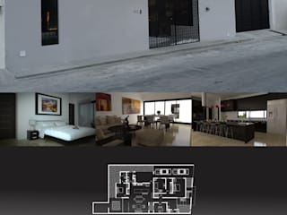 Casa San José LASTIRI ARQUITECTOS Casas minimalistas