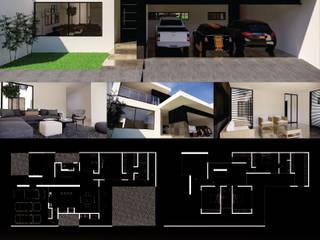 Casa Eminencia LASTIRI ARQUITECTOS Casas minimalistas