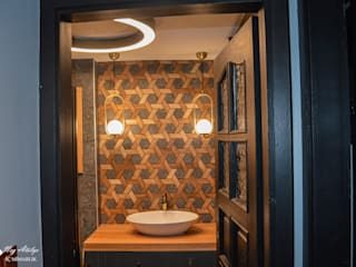 Modern bathroom by NEG ATÖLYE İÇ MİMARLIK Modern