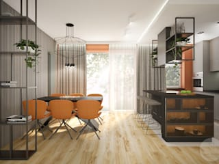 Nevi Studio Kitchen units Orange