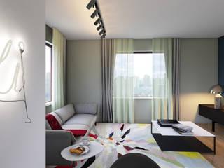 LIVE the Living room Soggiorno moderno di Giulia Grillo Architetto Moderno