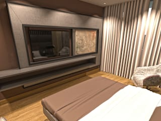 Otel Tasarımı Modern Oteller NDA CONCEPT Modern