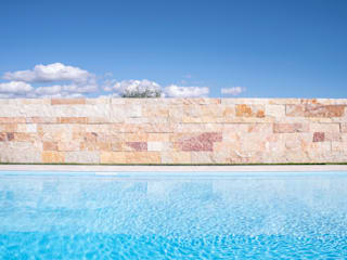 Piscinas de estilo minimalista de sebastiano canzano architetto Minimalista