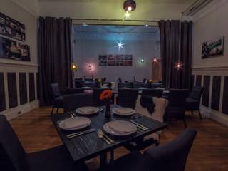 Restaurante Casa Q TR arquitectos Gastronomía de estilo ecléctico
